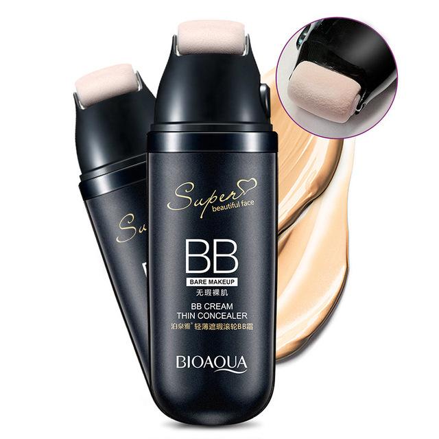 Maquiagem Rolo BB Creme de Clareamento Hidratante Protetor Solar Fundação Nutritivo Anti-rugas Maquiagem Corretivo Iluminar o Cuidado Da Pele
