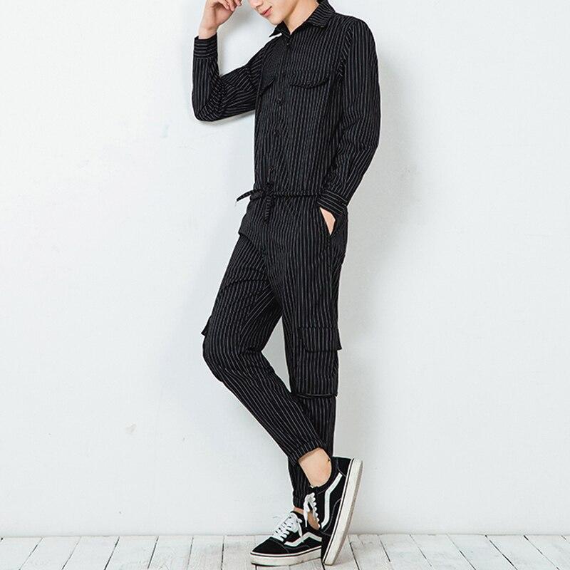 Babykleidung Jungen Hell Männer Frühling Und Herbst Große Code Langarm-overall Friseur Fashion Night Club Südkoreanischen Arbeitsbekleidung Hosen.