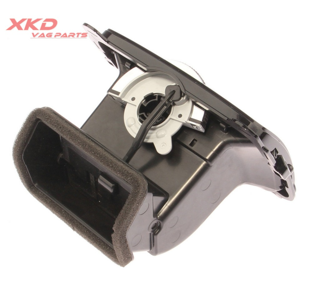 Painted Chrome Rear Center Console Air Vent Trim Outlet For Jetta 16D819203B