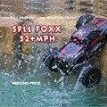 S911 50kmH + Gptoys 2.4 Ghz 2WD RC Car Control Remoto Crawler Camión de Coche de Deriva Carrinho Control Remoto Bigfoot Velocidad de Gasolina