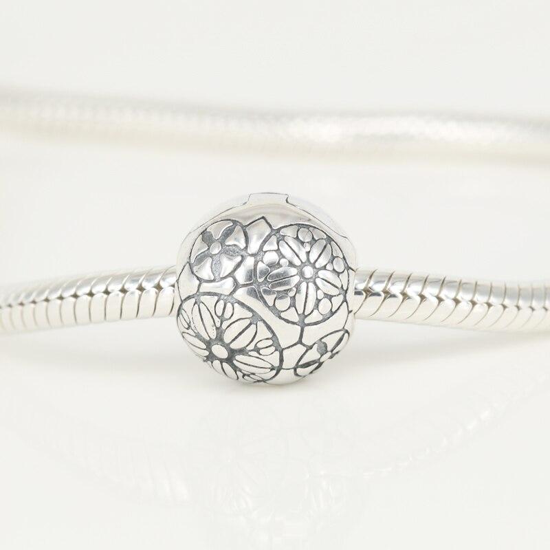 2f63208137e21 Original Da Vinci Lock Clip Fits Pandora Bracelet 925 Sterling ...