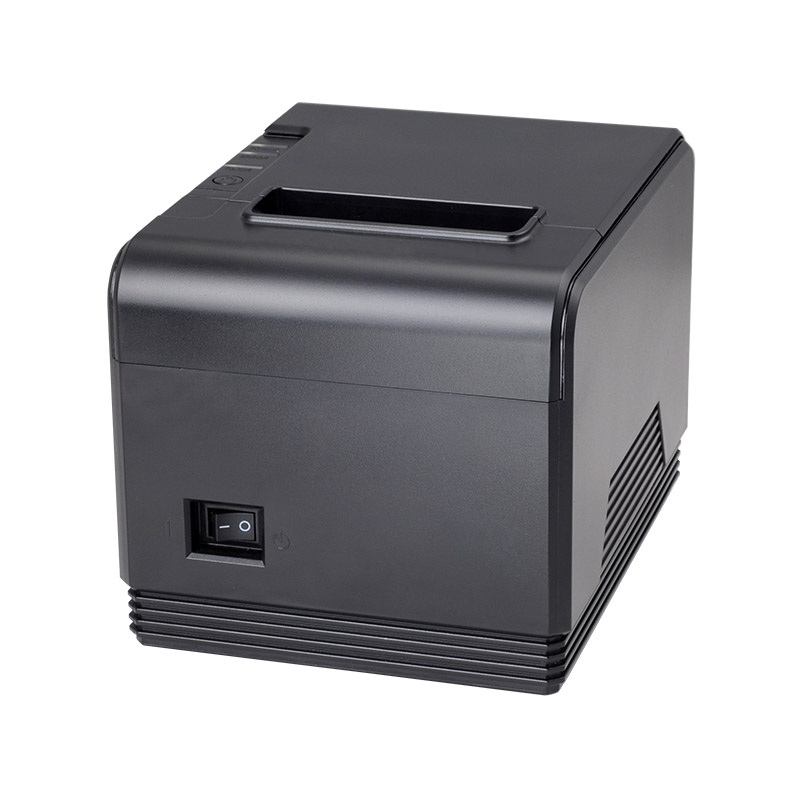 High speed 200mm/s 80mm auto cutter POS printer Thermal receipt printer Kitchen printer with USB+Serial port / Ethernet port 80mm thermal receipt printer automatic cutter restaurant kitchen super market pos printer usb ethernet printer
