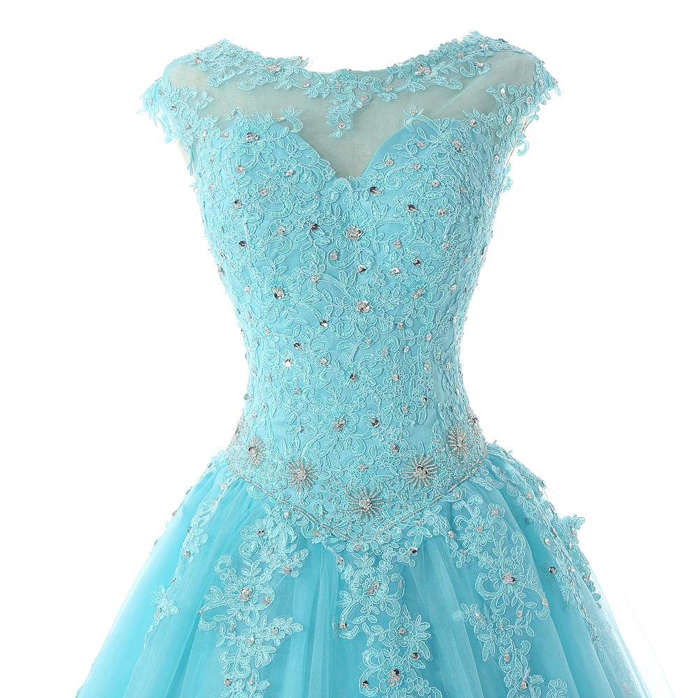 Ruby Bridal New Real Red Quinceanera Dresses Vestido Debutante Blue Quinceanera Dress Dresses Ball Gowns Quinceanera Dress CL008