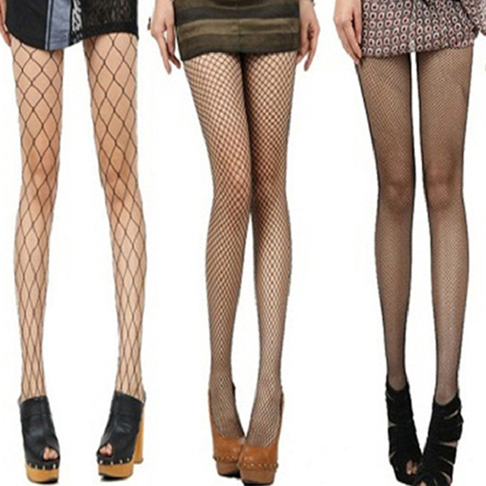 Sexy Mesh Tights Women Hollow Out Pantyhose Nylons Ladies Fishnet Tights Collant Femme Strumpfhose Medias