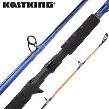 KastKing Kasnake 24T+30T Carbon Body Casting Fishing Rod 2.21m 2.28m H XH Power Baitcasting Rod for Snakehead Fishing Pole