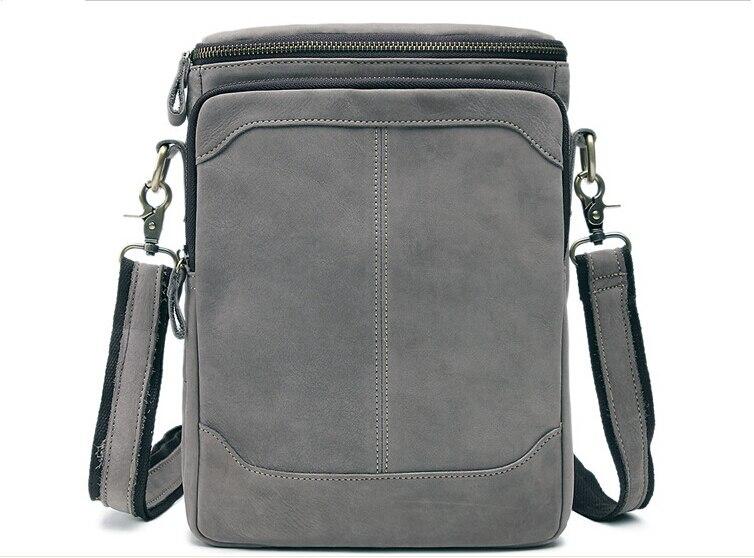 ФОТО 2016 Fashion leather laptop bag  leather shoulder bags messenger handbags men business crazy horse leather bag brifecase