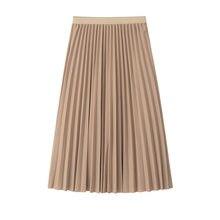 2018 mujeres falda alta cintura mujeres Falda Midi plisada Mujer Jumper  señoras A-Line Midi d1650fdc6483