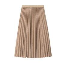 b4db787e1d 2019 de las mujeres falda de cintura alta para mujeres Falda Midi Falda  Mujer Jersey vestido