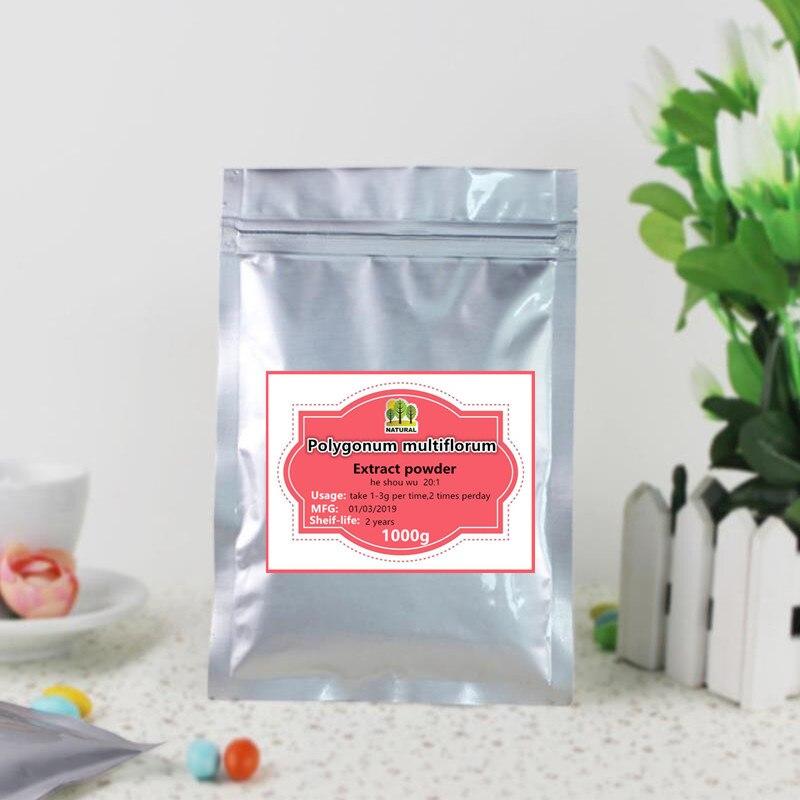 1000g extrait de Polygonum multiflorum pur de haute qualité 20: 1 poudre, extrait fo-ti, améliorant l'immunité, Anti-âge, cheveux noirs