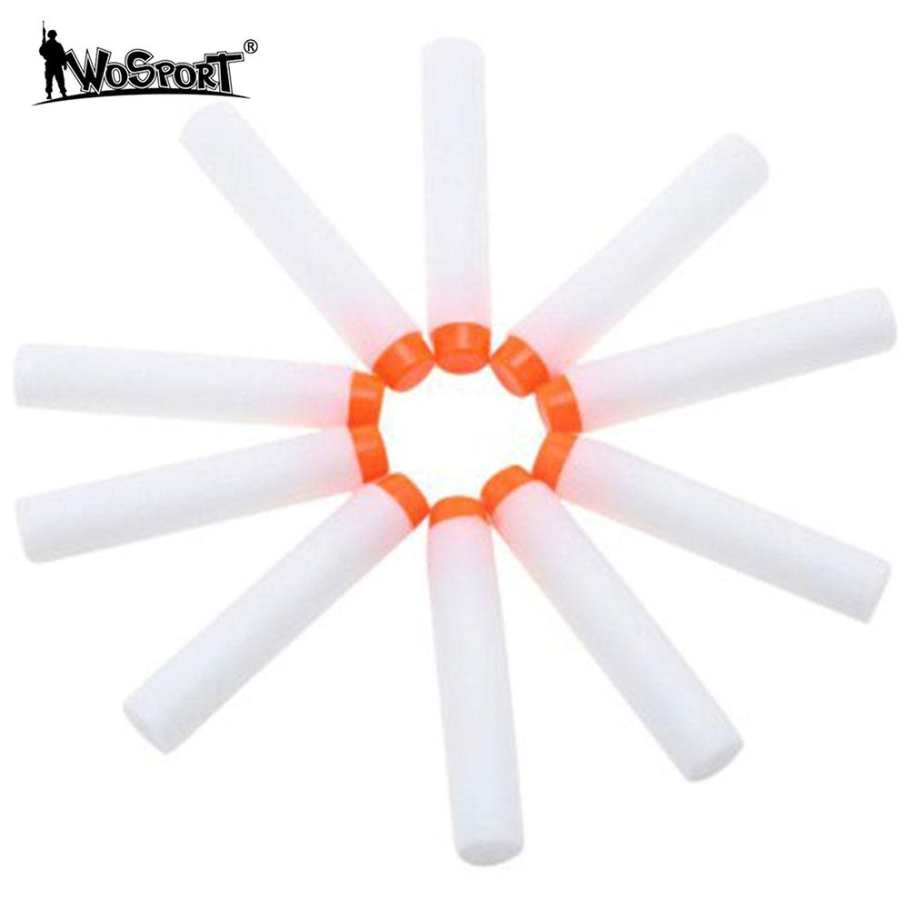 10pcs Paintball Kids Toy Luminous Bullets Durable Tactical Fluorescent Darts Shooting Supplies Gifts ...