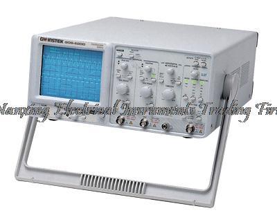 Oscilloscope analogique 2 canaux Gwinstek GOS6200 à arrivée rapide