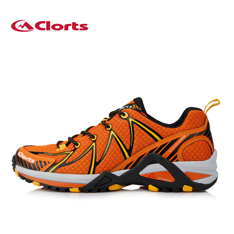цена Clorts Men Running Shoes Lightweight Outdoor Sports Shoes Breathable Mesh Running Sneakers for Men 3F016A/B