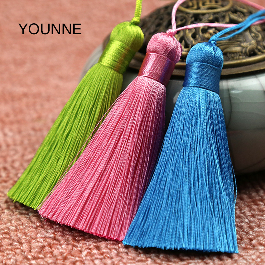YOUNNE Women Bag Tassel Pendant Accessories Female Fashion Ordinary Solid Color Bags Accessories Key Rings For Bags Jewelry Gift