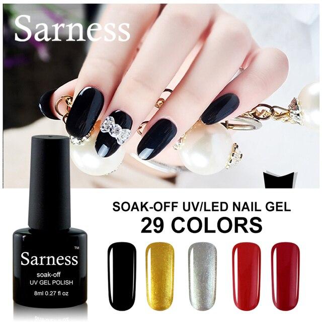 Sarness Gel Nail Polish Long lasting Soak off LED UV Gel Color ...