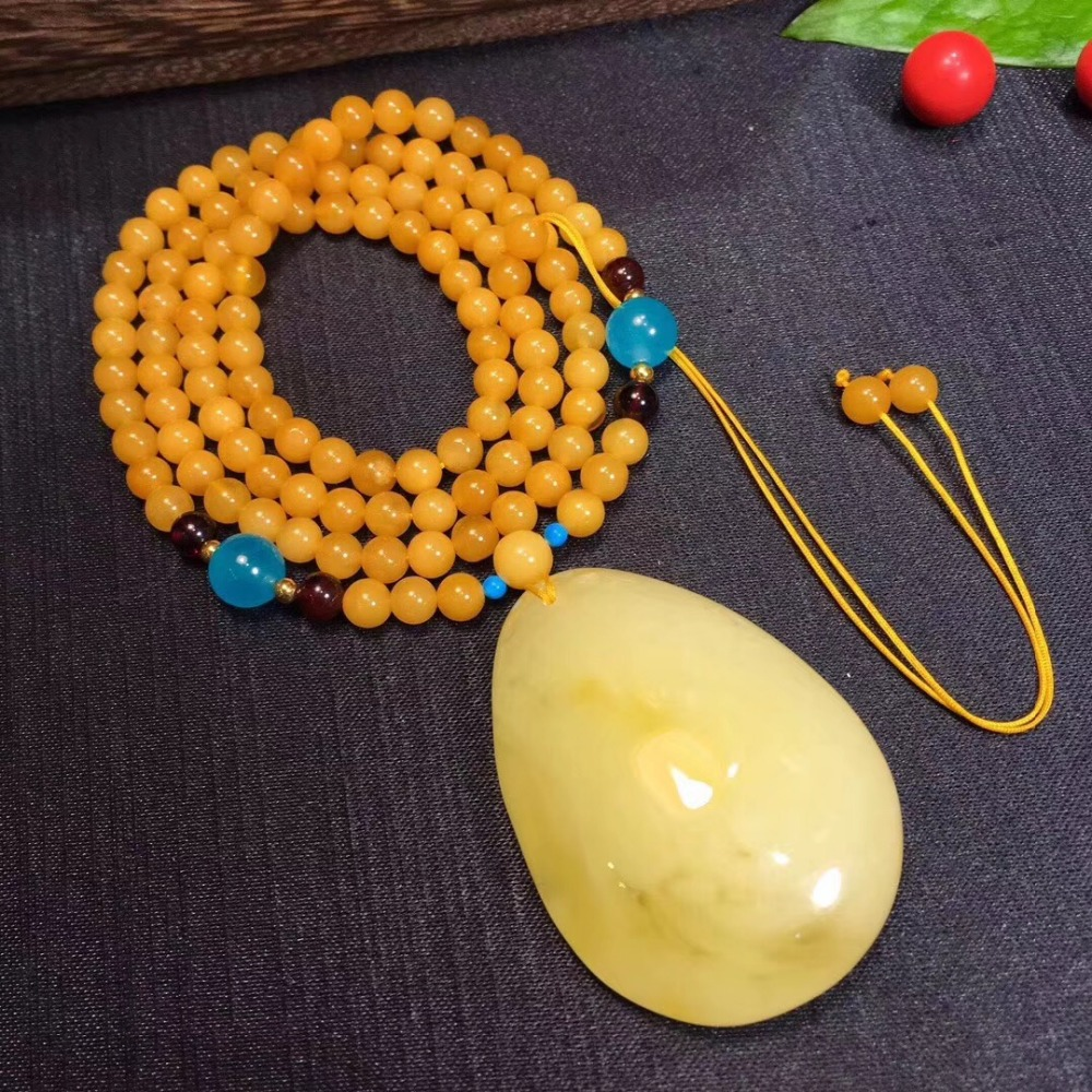 100% Natural Yellow Gold Water Drop Amber Pendant 45x33x12mm Amber Necklace For Woman Man Gift Stone Round Bead Gemstone AAAAA100% Natural Yellow Gold Water Drop Amber Pendant 45x33x12mm Amber Necklace For Woman Man Gift Stone Round Bead Gemstone AAAAA