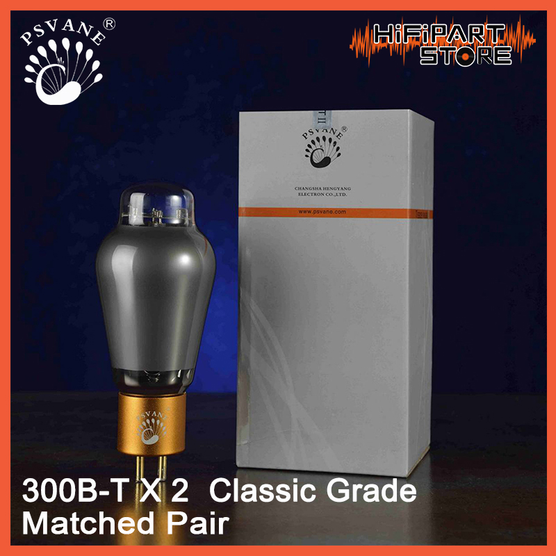 2pcs PSVANE 300B T MKII Classic Grade Valve Matched Pair Tube amplifier accessories Repalce Shuguang EH