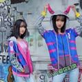 D.Va Hoodies costume halloween Harajuku Sweatshirts Halloween dva cosplay
