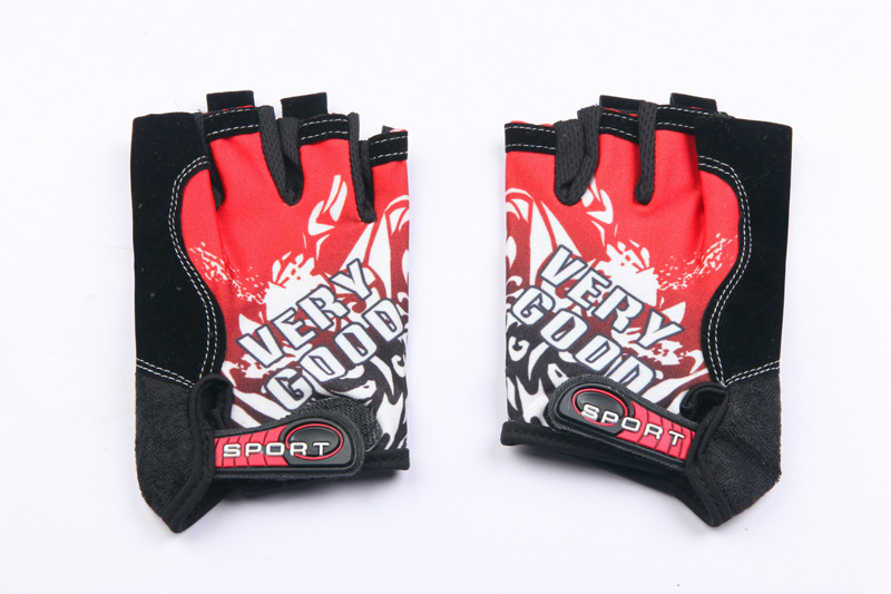 Half Finger Weight Lifting Gym Fitness Sports Gloves