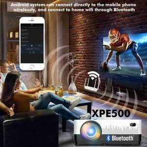 Image 3 - CRENOVA أحدث HD 1280*720p عارض فيديو مع نظام أندرويد 6.1 OS واي فاي بلوتوث 4300 لومينز السينما المنزلية فيلم العارض