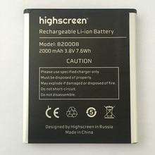 100% High Quality 2000mAh B2000B Battery For Highscreen WinWin win win B2000B
