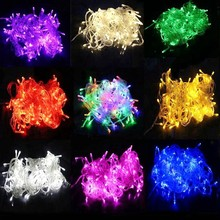 30m LED String Lighting Wedding Fairy Christmas Lights Outdoor Twinkle Decoration Tree Lights for New Year Holiday Party 2018 sale christmas decoration navidad christmas tree great led lighting wedding celebration decoration product 30m lamp h243