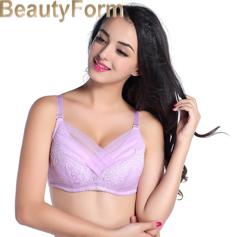 8428 Mastectomy Bra Comfort Pocket Bra for Silicone Breast Forms Artificial Breast Cover Brassiere Underwear