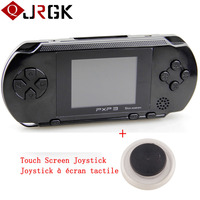 16 Bit Portable Game Console PXP3 Handheld Video Game Player With 2 Game Cards Joystick Slim