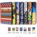 Nuevo Ultra-delgado dibujo coloreado de LA PU Funda de piel para amazon Kindle Paperwhite 123 6 pulgadas caso Elegante de la cubierta de Protección + pen + OTG