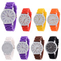 bowaiwen #0018 couple watch Silicone Rubber Jelly Gel Quartz Analog Sports men and Women Wrist Watch Unisex