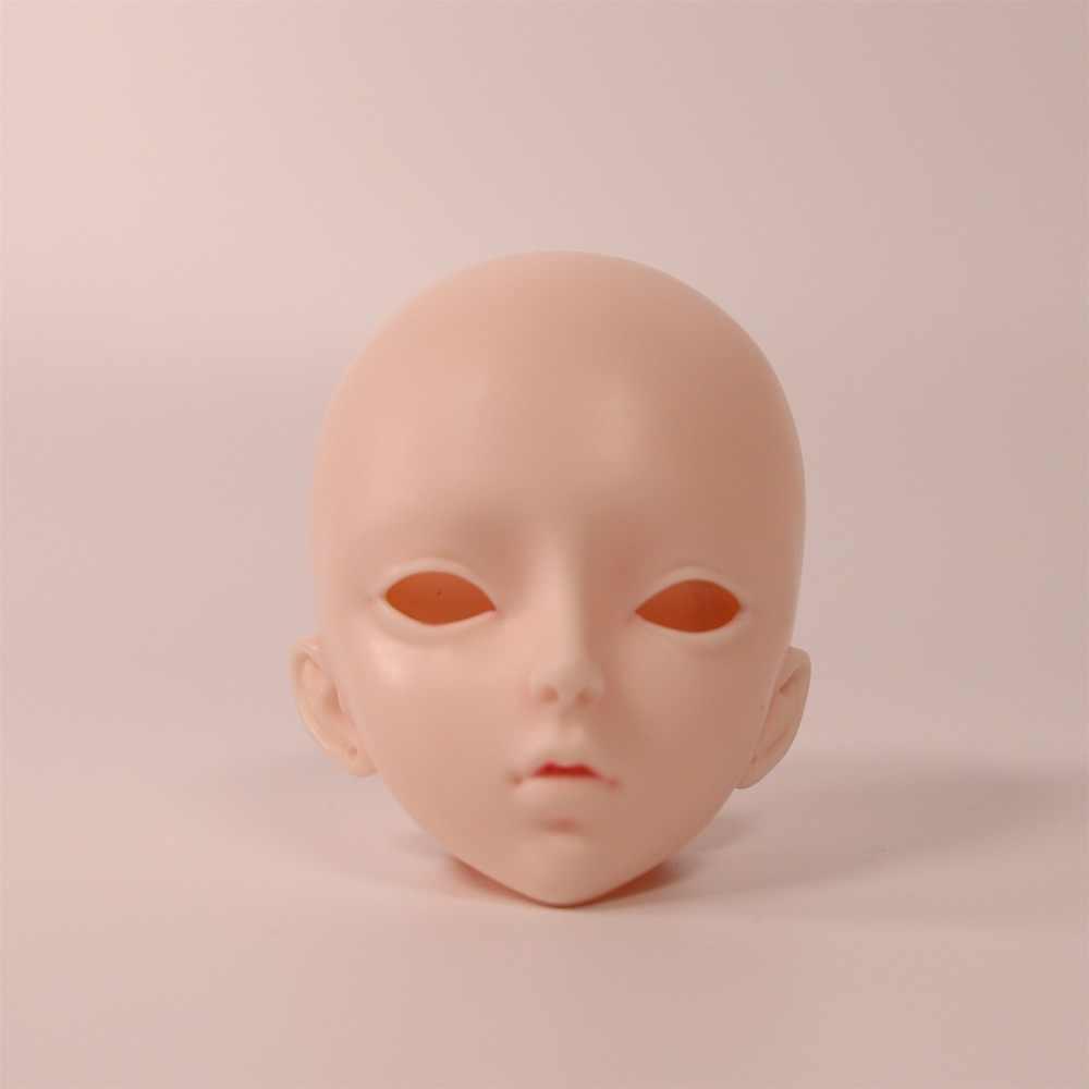 1/3 bjd puppe 62cm joint körper puppe weiß haut blad kopf mit/ohne make-up, AI YoSD MSD SD Kit Spielzeug Baby Geschenk DC