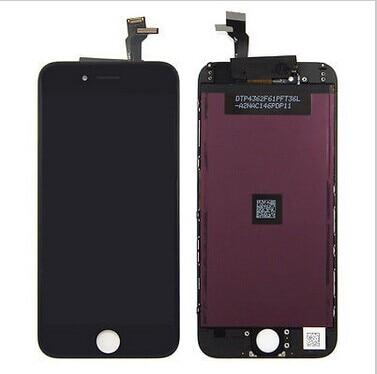 imágenes para 20 unids/lote mejor calidad lcd para iphone 6 lcd digitalizador reemplazo, reemplazo de pantalla para el iphone 6, para el iphone 6 pantalla