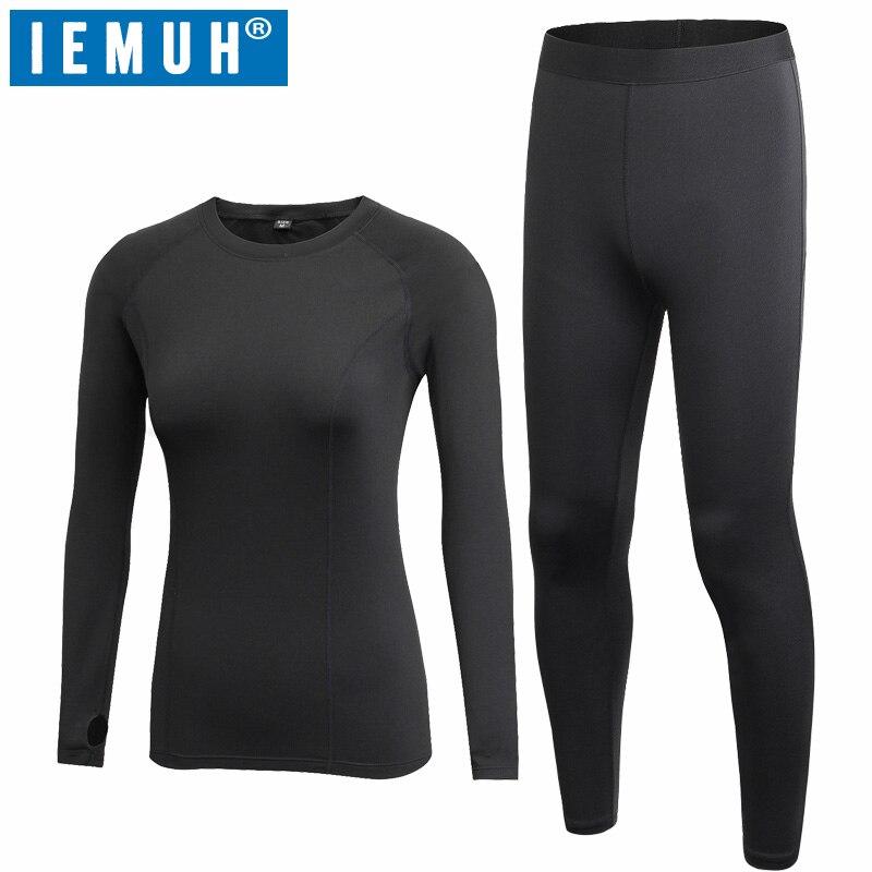 Nueva ropa interior térmica de otoño e invierno para mujer, estiramiento de secado rápido, ropa térmica informal para mujer