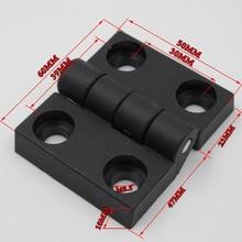 100 шт/упаковка 30*39* M8.5 ABS нейлоновая пластиковая петля профиль или дверные оконные петли