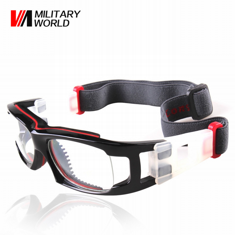 Outdoor Sport Glasses For Football Basketball Adjustable Elastic Nylon Headband Hiking Goggles Anti-fog Men Cycling Eyewear