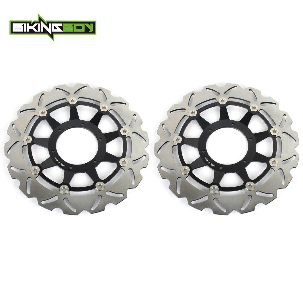 BIKINGBOY Front Brake Discs Rotors Disks for Honda CBR 1000 RR Fireblade 2008 2009 2010 2011