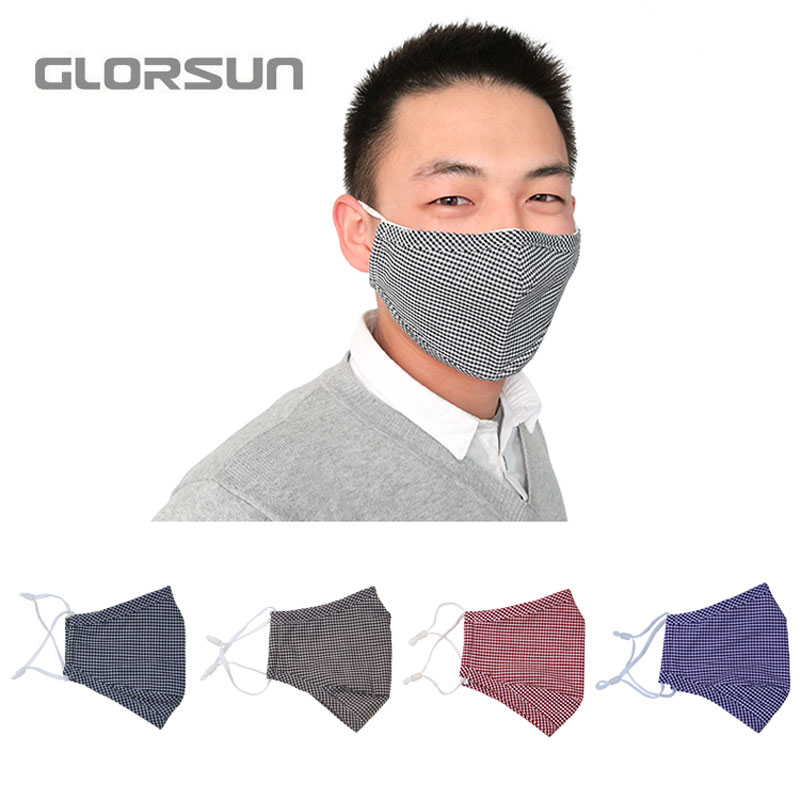 GLORSUN manufacturer high quality n95 pm2.5 viruses dust face mask wholesale n99 smog air pollution washable anti odor smog mask image