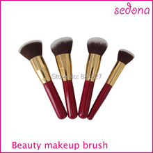 4pcs cosmetics kit Popular Brazil makeup brush for makeup brushes professional artist and Newer