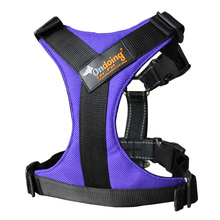 Dog Harness with Front Clip Walking Pet .Oxford Padded Vest Chest .Without traction rope.