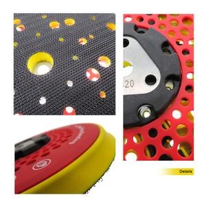 "Image 5 - 6"" 150mm 53 Hole Sanding Pad Multi functional Dust Free Backing Plate Hook and Loop"