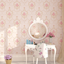 Fashion rustic non-woven wallpaper bedroom tv background 3d stereo