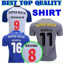 2018 2019 New Top quality adult Porto jersey Casual shirt 18 19 Porto T shirt Quality Casual Size S-XL(China)
