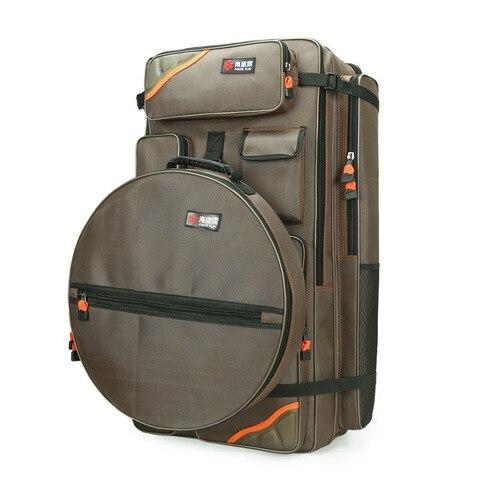 saco de cadeira de pesca 80cm multifuncional saco de equipamento dupla volta saco de peixe