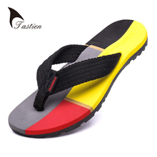 TASTIEN Men Flip Flops Slippers Summer Beach Shoes Male Slippers Flip Flop Sandals Casual  EVA Mixed Colors