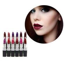 Hot Selling Top 12 Colors Sexy Lipstick Waterproof Long Lasting Moisturizing Beauty Lip Gloss Cosmetic Makeup Lip Stick Batom
