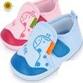 Tamaño del recién nacido Encantador Primeros Caminante de Algodón Inferior Suave Con Cordones Superficial Sólido Primavera/Otoño Botas de Tela de Algodón Del Bebé Zapatos de bebé Mucho