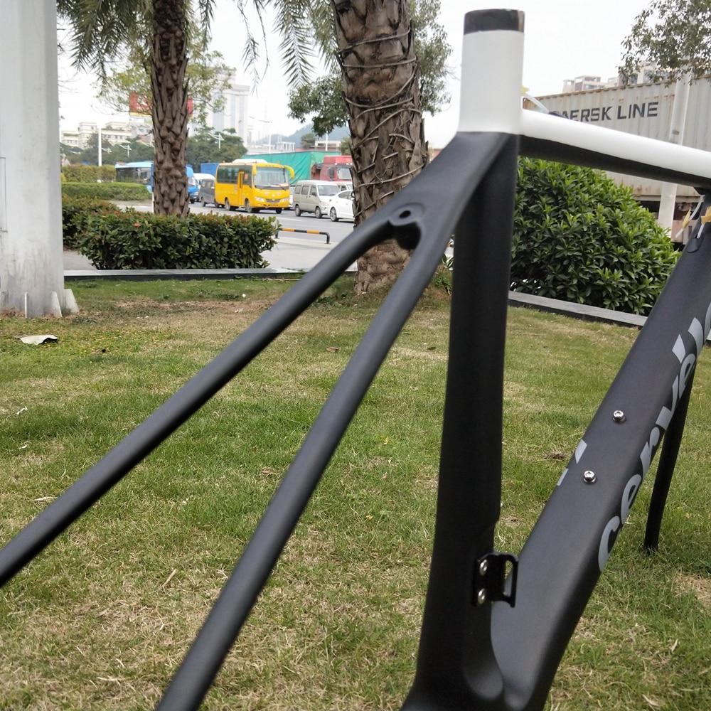 R3 plein carbone UD revêtement clair 700C vélo de route UD fourche cadre clair