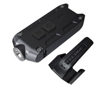 NITECORE Metal USB Rechargeable With Battery Key Button Light TIP CRI Outdoor Daily Camping Hiking Night