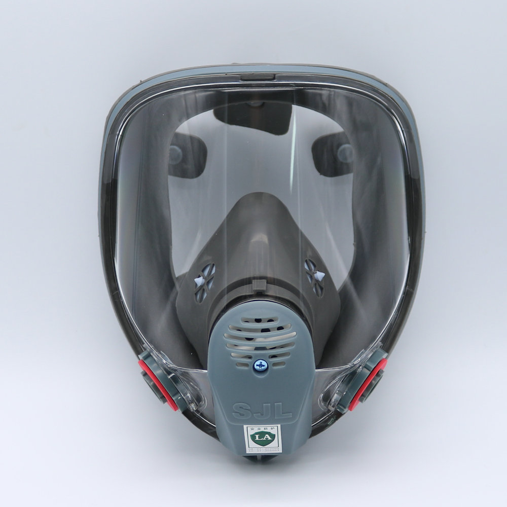 Industrious Sjl Full Face 6800 Gas Mask Pesticides Facepiece Respirator Painting Spraying 6001 Filter Cartridge Chemical Medicine Party Masks