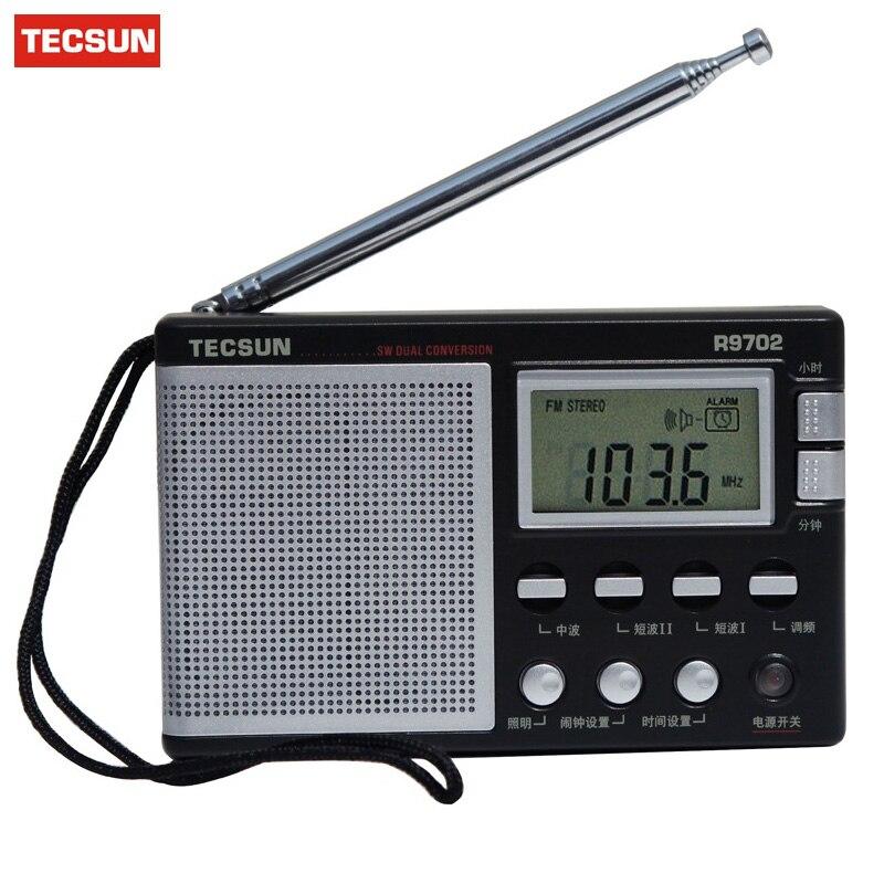 Hotsale Tecsun R-9702 Fm/mw/sw Doppelkonversion Welt Band Radio Integrierte Lautsprecher Dsp Radio Colock Lautsprecher Stereo Radio Tragbares Audio & Video Unterhaltungselektronik