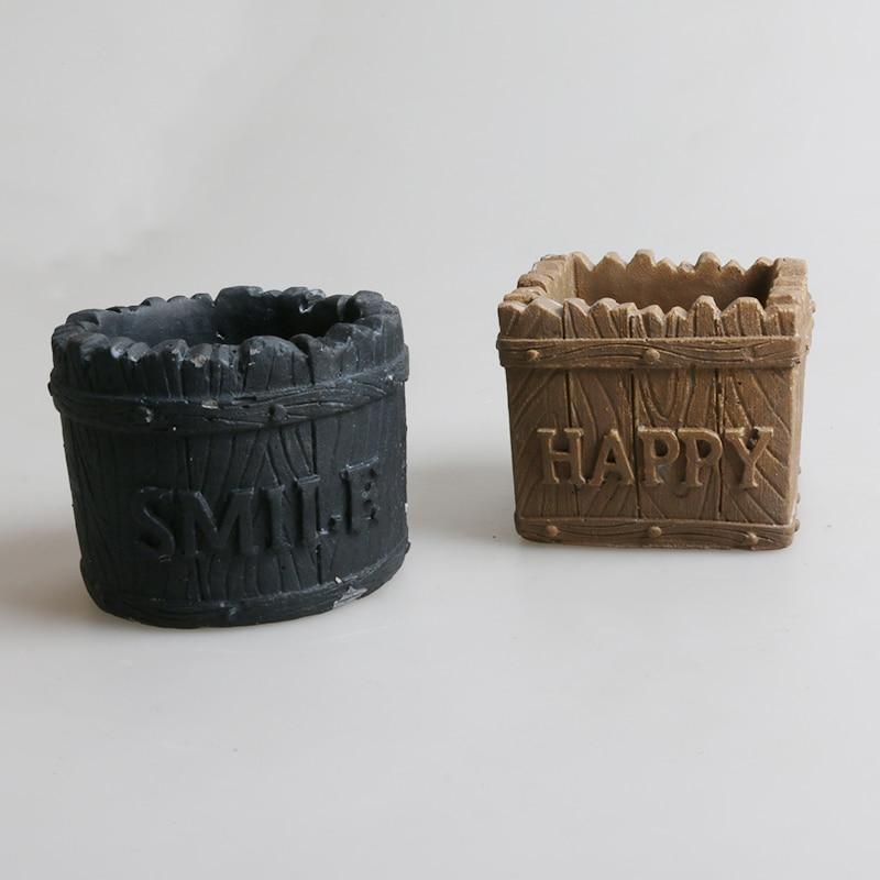 Silikonski kalupi za betonske posude za cementne kalupe za vaze - Umjetnost, obrt i šivanje - Foto 1